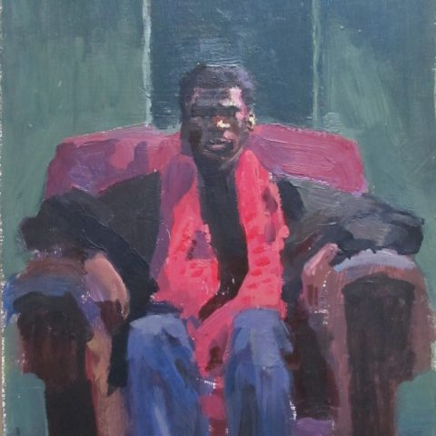 Desmond seated