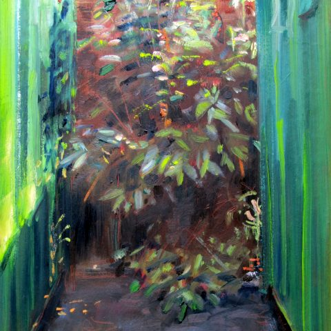 Outside the Studio #2 by David Hopkins
