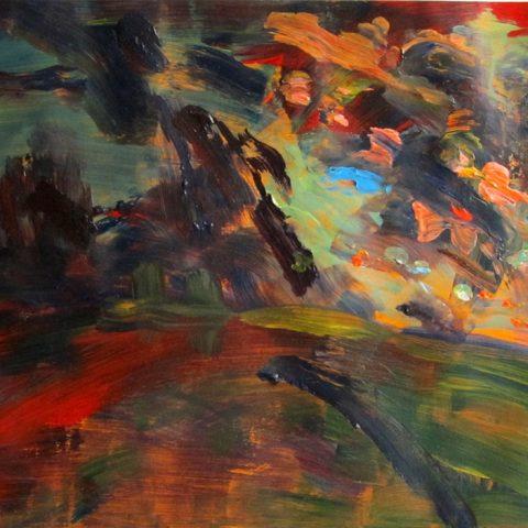 'Dusk/Park #1' by David Hopkins